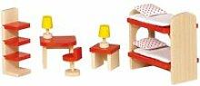 Maison de poupées : mobilier chambre d'enfants