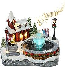 Maison De Village De Village De Noël avec avec