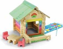Maison en bois à peindre et à construire avec 65