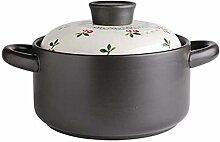 Maison japonaise Casserole Sauce Pot peint mignon
