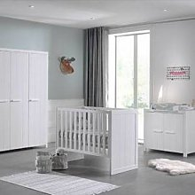 Maisonetstyles Lit bébé + commode + armoire 3