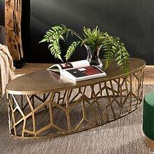 Maisonetstyles Table basse ovale 150x60x40 cm en