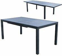 Maisonetstyles Table de jardin extensible 180-270