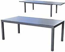 Maisonetstyles Table de jardin extensible 200-300