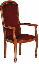 Maisonetstyles Voltaire assise haute velours