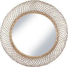 Malaca - Miroir en rotin