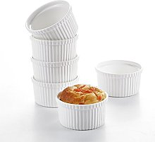 MALACASA Série Ramekin Dish, Lot 6pcs Petit