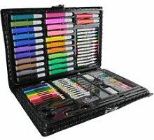 Malette de coloriage - 86 pièces - loisirs