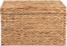 Malle en fibre végétale 55x30x30