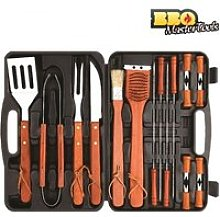 Mallette Ustensiles Barbecue BBQ Master Tools 18
