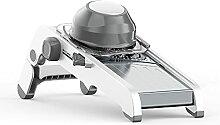 Mandoline professionnelle réglable en acier