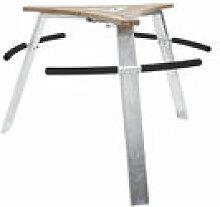 Mange-debout Abachus avec 6 assises intégrées -