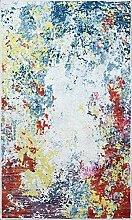 MANI TEXTILE TPS_Art_BLE_160 Tapis, Polyester,