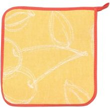 Manique de cuisine 20x20 cm matelassée 100% coton