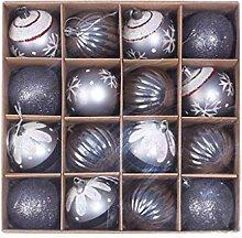 Manyao 16 Pcs Boules de Noël Lot, Boule de