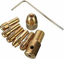Manyao 8pcs Gold Micro Twist Mandrin petit