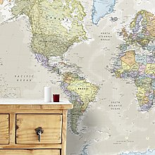 Maps International Carte Géante du Monde pour Mur