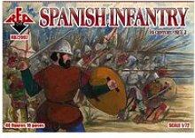Maquette accessoires militaire : spanish infantry