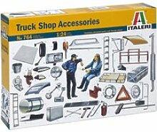 Maquettes 1/24 : accessoires camion