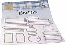 Marianne Design Tampons Transparents, Bannières,