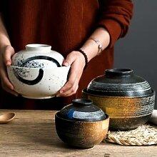 Marmite à Dessert en céramique de Style japonais