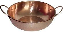Marmite à induction à double fond en cuivre pour