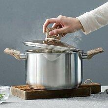 Marmite à légumes à induction en acier