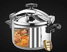 Marmite à soupe 3 à 5 L en acier inoxydable -