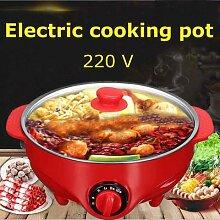 Marmite à soupe électrique en acier inoxydable,