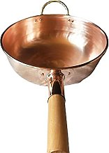 Marmite à soupe en cuivre pur extra épais pour