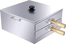 Marmite à vapeur d'acier inoxydable de 2