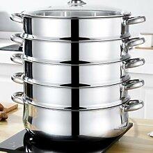 Marmite à vapeur multifonctionnelle en acier
