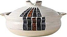 Marmite Casserole en céramique de style japonais