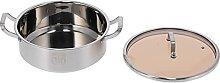 Marmite en acier inoxydable-Pot à soupe en acier