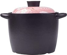Marmite en céramique Casserole Ragoût Pot à gaz