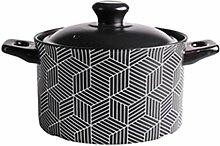 Marmite en céramique Pot de ragoût en céramique