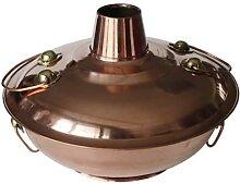Marmite en cuivre à gaz (30 cm)