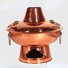 Marmite en cuivre épais pour la maison ou le