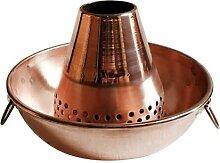 Marmite en cuivre pour cuisinière à induction 26