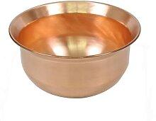 Marmite en cuivre pur pour induction - Faitout