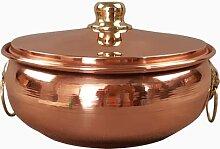 Marmite en cuivre pur pour restaurant, maison,