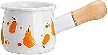 Marmite en émail Pot à café Casserole à lait