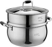 Marmite Induction, Pots à soupe avec couvercles,