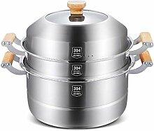 Marmite Induction, Soup Pots with Lids, 3-Layer