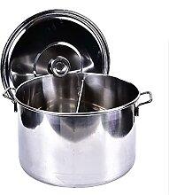 Marmite Induction, Soup Pots with Lids, Stock Pot,