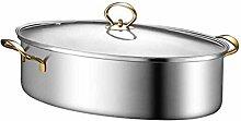Marmite ovale à la vapeur, marmites à soupe