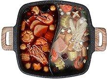 Marmite Shabu Cuisinière chaude cuisseuse à