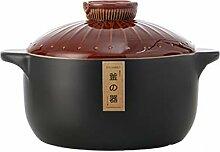 Marmite Soupe Pot Cuisson Pot Céramique Saune