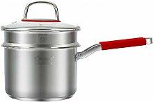 Marmite-Steamer, Pot De Soupe Épaissie En Acier