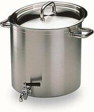Marmite traiteur professionnelle avec robinet e...